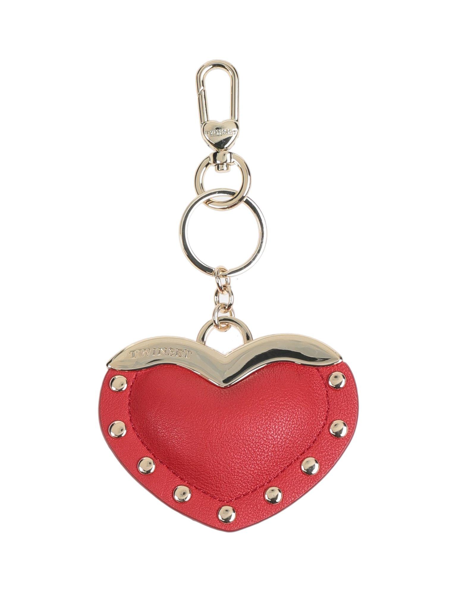 TWINSET Брелок для ключей jobon zhongyin брелок для ключей кольцо для ключей цепочка цепочка волокно кожа ребенок мать весна талия висит тип ретро черный никель zb 116b