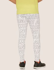ARMANI EXCHANGE ALLOVER LOGO PRINT LEGGING Jogger [*** pickupInStoreShippingNotGuaranteed_info ***] e