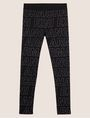 ARMANI EXCHANGE ALLOVER LOGO PRINT LEGGING Jogger Man r