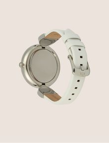 ARMANI EXCHANGE WHITE LINKED BAND WATCH Fashion Watch Woman e