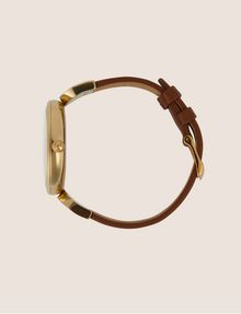 ARMANI EXCHANGE GOLD-TONED LINKED BAND WATCH Fashion Watch [*** pickupInStoreShipping_info ***] a