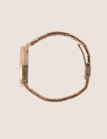ARMANI EXCHANGE Cronografo in acciaio a tre maglie con quadrante piatto Orologio Donna a