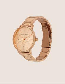 ARMANI EXCHANGE Cronografo in acciaio a tre maglie con quadrante piatto Orologio Donna d