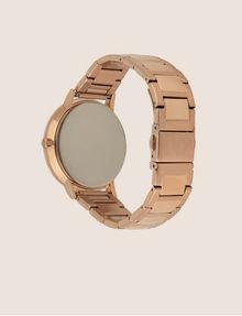 ARMANI EXCHANGE Cronografo in acciaio a tre maglie con quadrante piatto Orologio Donna e