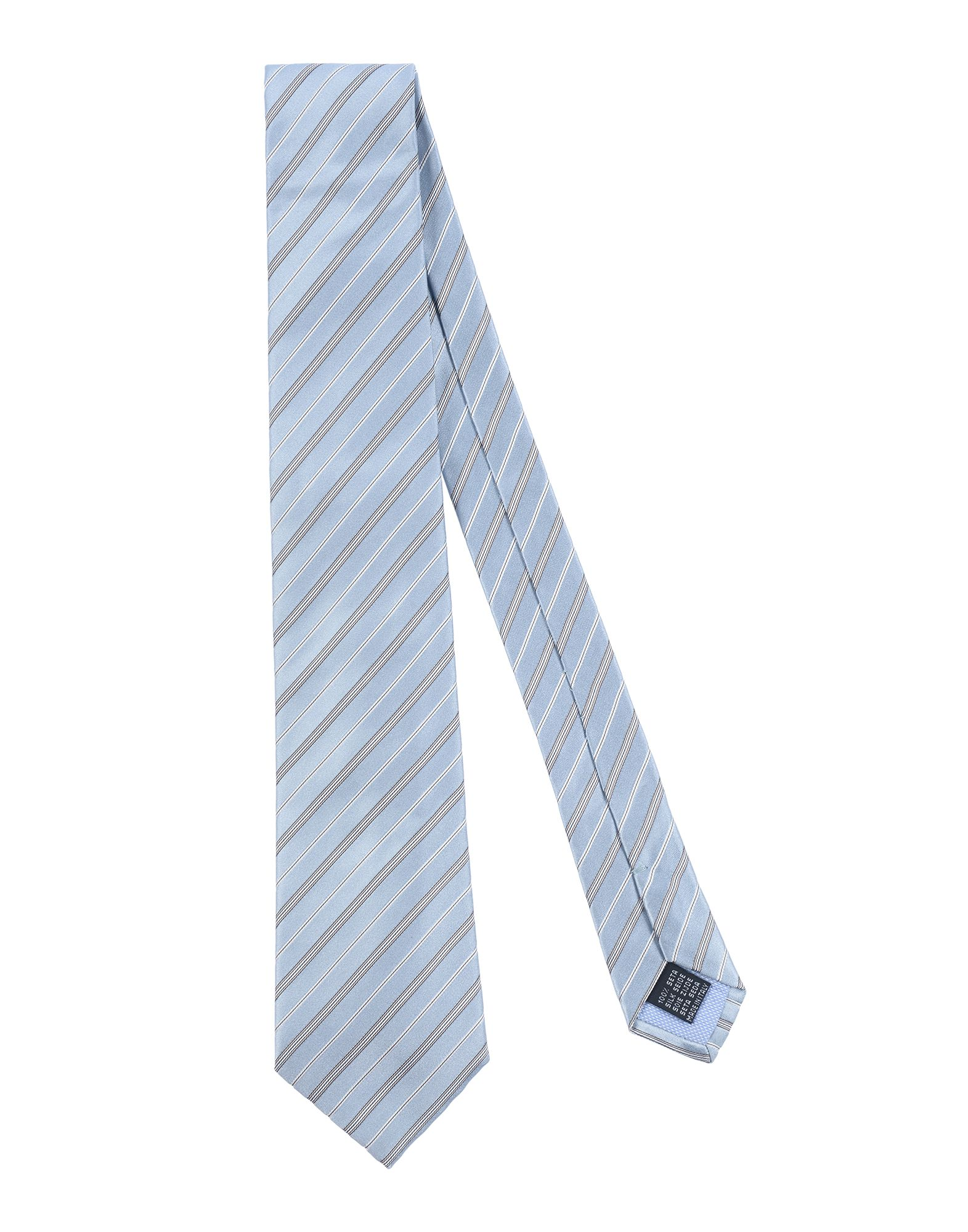 《送料無料》RODA メンズ ネクタイ スカイブルー シルク 100%
