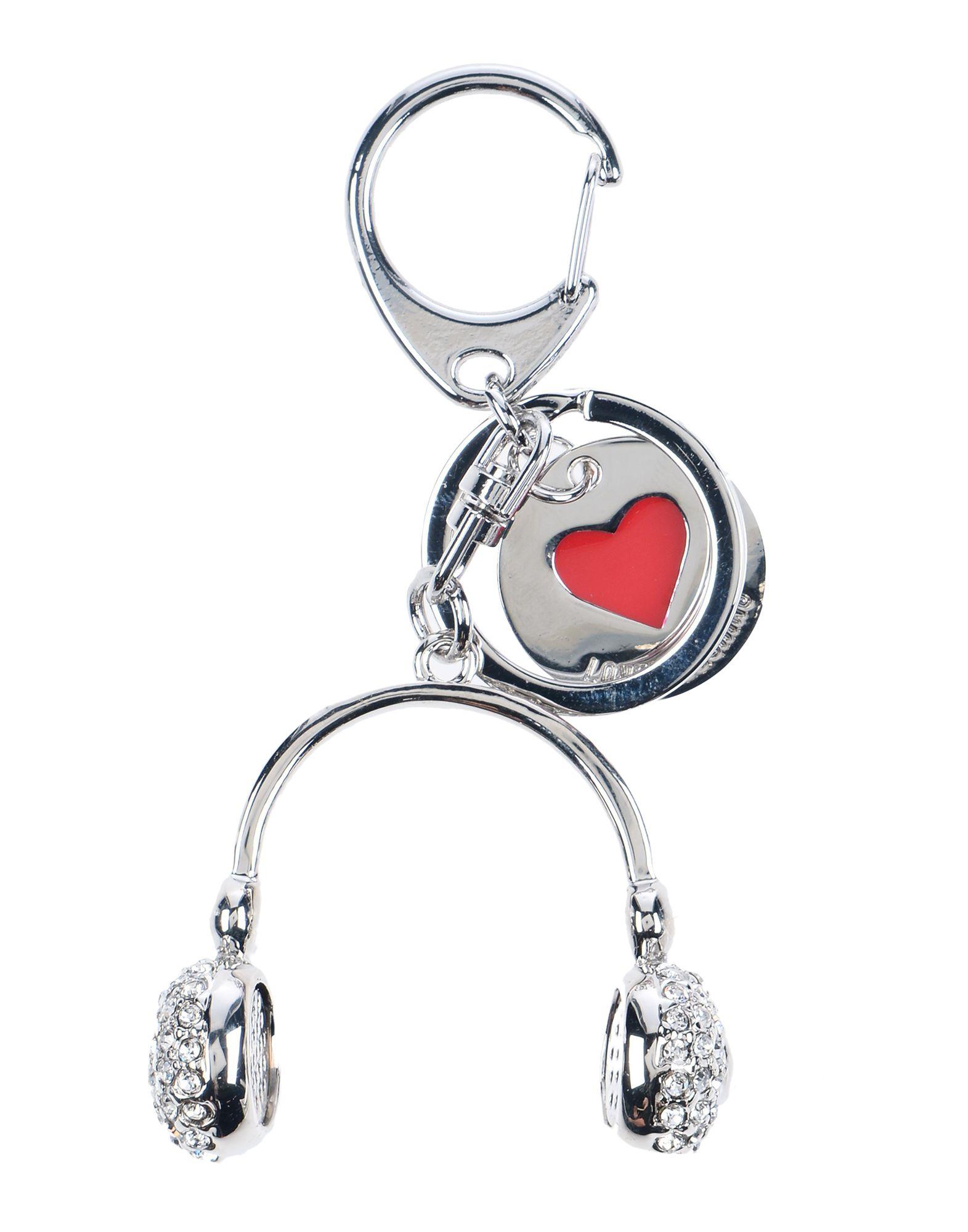 LOVE MOSCHINO Брелок для ключей jobon bangzhong брелок для ключей кольцо брелок для ключей мать двойной брелок застежка молния талия висячий тип zb 060c хром