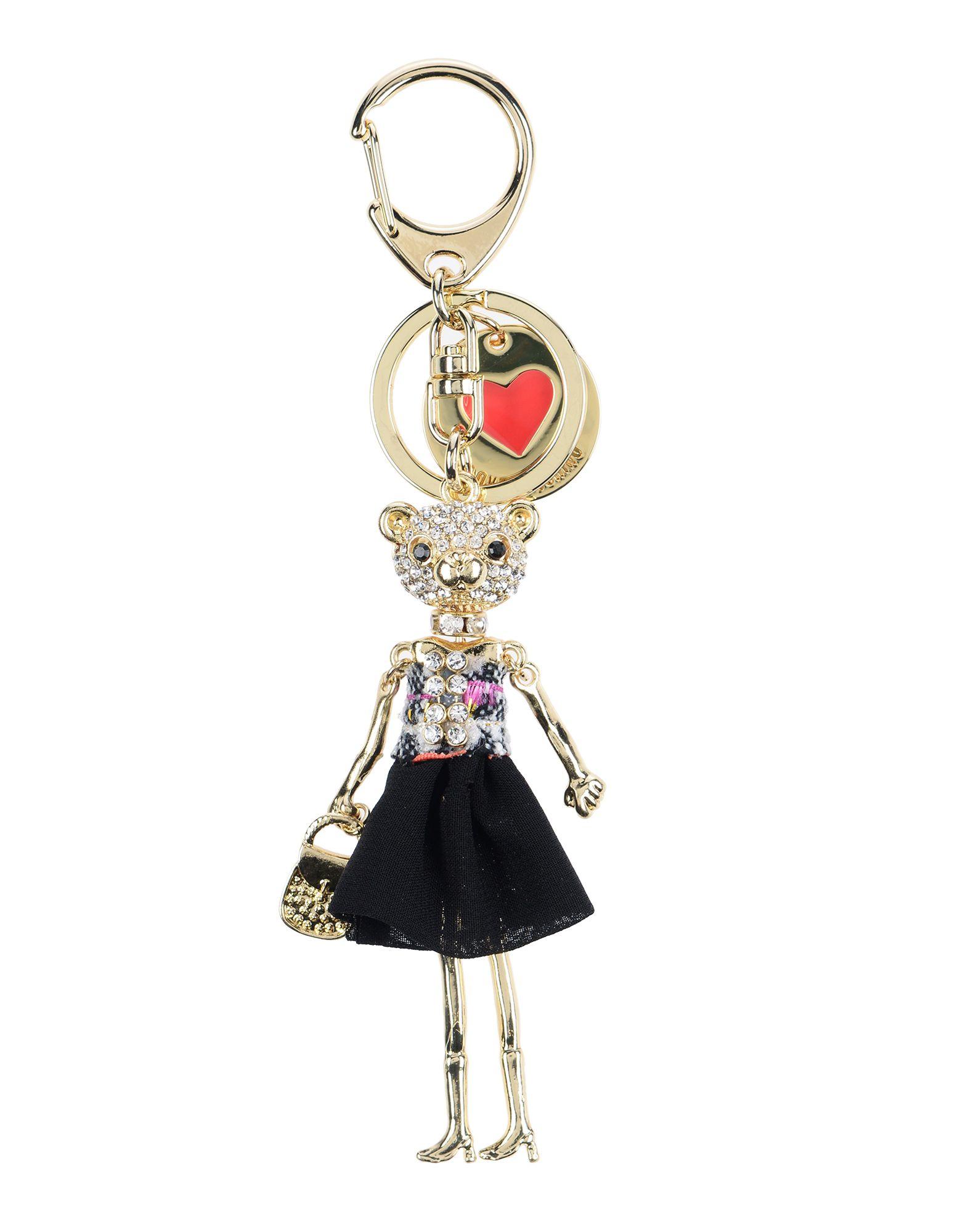 LOVE MOSCHINO Брелок для ключей кисти подхваты крючки держатели mega love 155