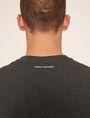 ARMANI EXCHANGE REGULAR-FIT LARGE PRINT LOGO V-NECK Graphic T-shirt Man b