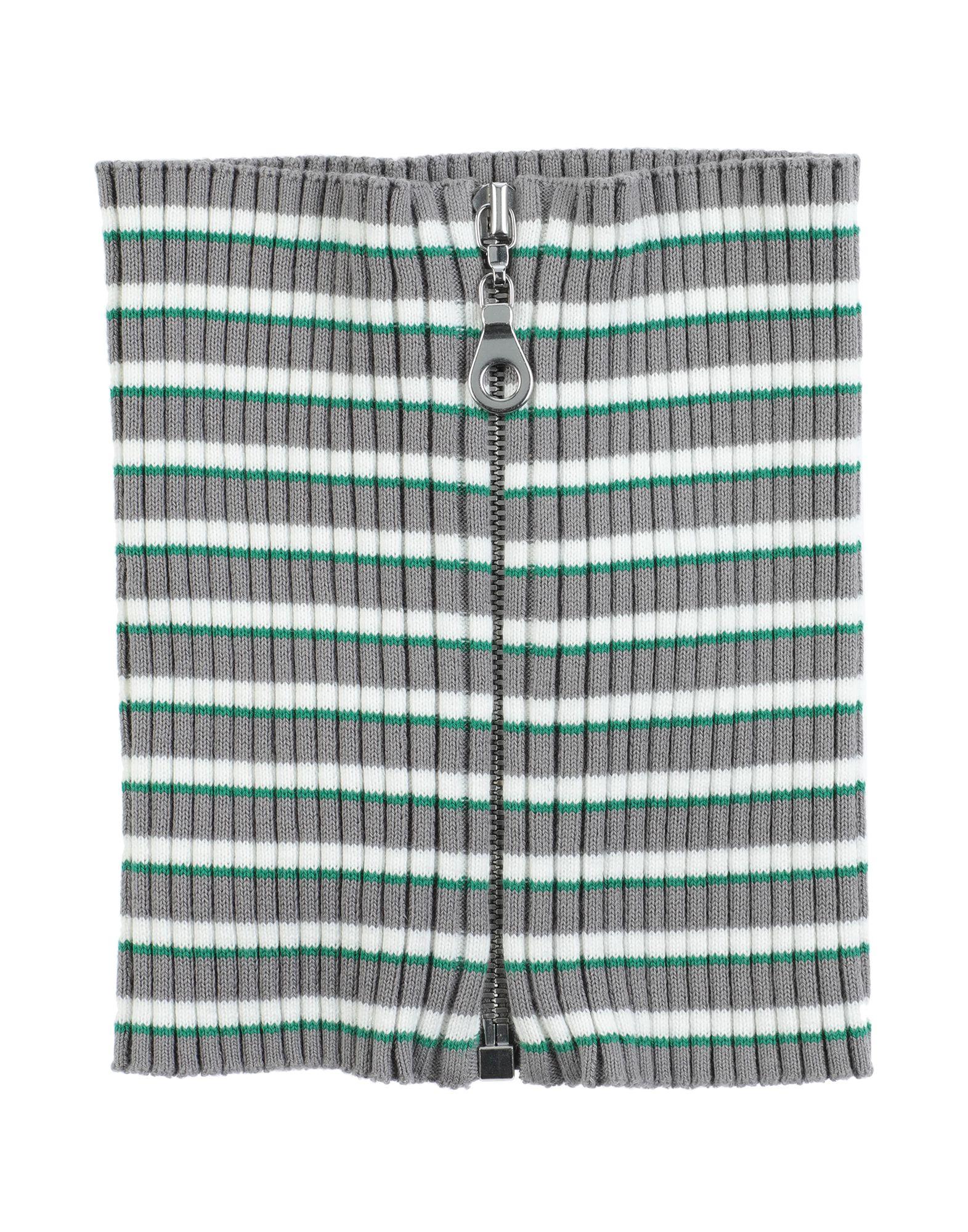 MAISON MARGIELA Collars. jersey, ribbed, no appliqués, stripes, zip. 100% Cotton