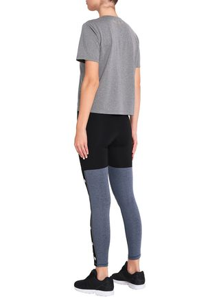 PURITY ACTIVE Printed stretch-jersey leggings