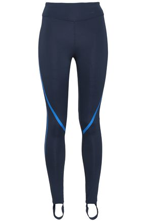 PURITY ACTIVE Printed tech-jersey stirrup leggings