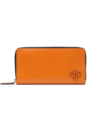 EMILIO PUCCI Leather continental wallet
