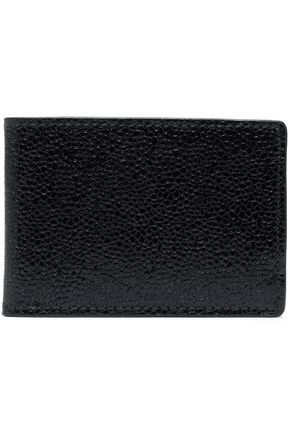 ALAÏA Textured-leather cardholder
