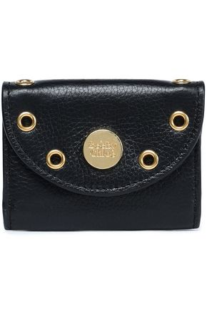 SEE BY CHLOÉ Embellished textured-leather coin purse
