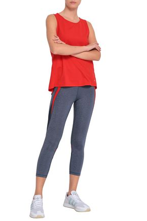 PURITY ACTIVE Cropped paneled stretch leggings