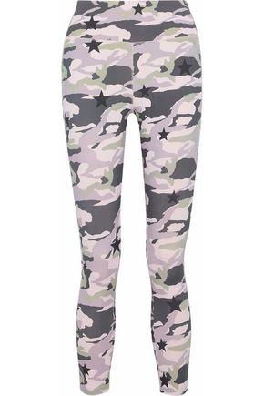 MONROW Printed stretch leggings