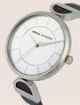 ARMANI EXCHANGE Uhr mit Lederband und Logo-Detail Fashion Watch [*** pickupInStoreShipping_info ***] r