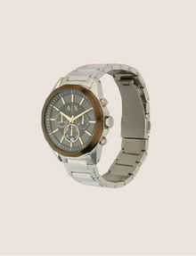 ARMANI EXCHANGE CHRONOGRAPH BRASS-TONED STAINLESS STEEL BRACELET WATCH Fashion Watch [*** pickupInStoreShippingNotGuaranteed_info ***] d