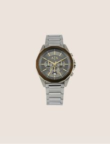ARMANI EXCHANGE CHRONOGRAPH BRASS-TONED STAINLESS STEEL BRACELET WATCH Fashion Watch [*** pickupInStoreShippingNotGuaranteed_info ***] f