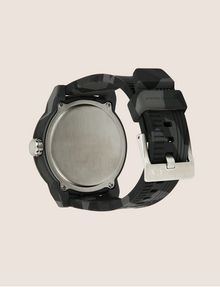 ARMANI EXCHANGE GEO CAMO TACTICAL SILICONE BAND WATCH Watch Man e