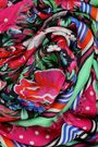 MARY KATRANTZOU Printed modal and cashmere-blend scarf