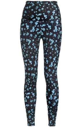 BODYISM Floral-print stretch leggings