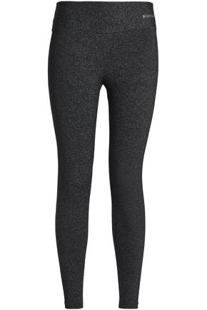 BODYISM Mélange stretch-jersey leggings