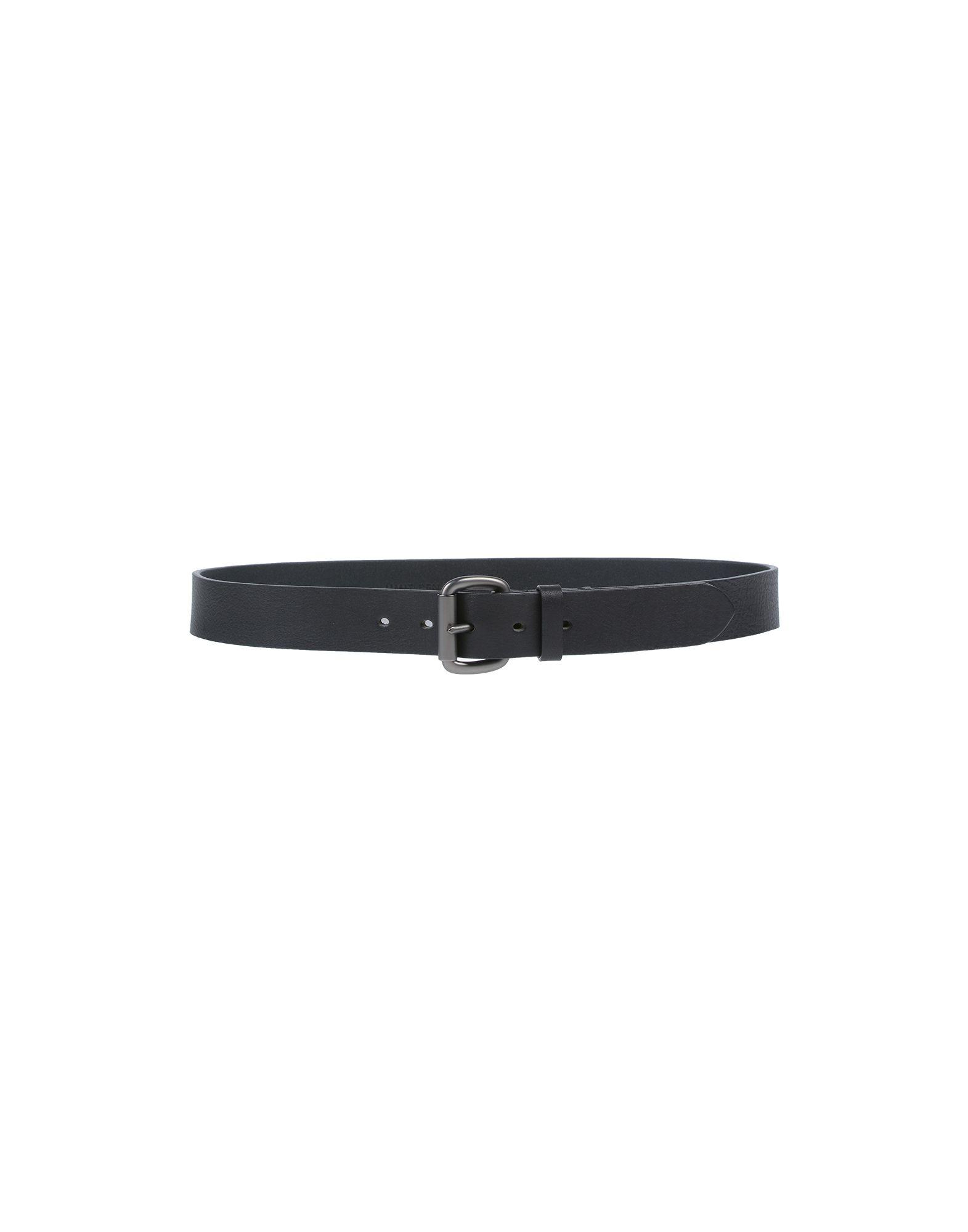 《送料無料》UMIT BENAN メンズ ベルト ブラック 36 革