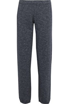 MONROW Mélange fleece track pants