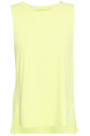 ADIDAS Cutout perforated stretch tank