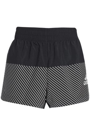 ADIDAS Striped shell shorts