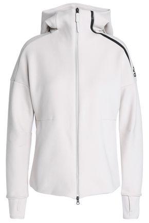 ADIDAS Cotton-blend hoodie