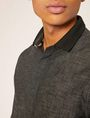 ARMANI EXCHANGE REGULAR-FIT POLO COLLAR CHAMBRAY SHIRT Long sleeve shirt Man b