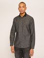 ARMANI EXCHANGE REGULAR-FIT POLO COLLAR CHAMBRAY SHIRT Long sleeve shirt Man f