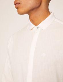 ARMANI EXCHANGE REGULAR-FIT POLO COLLAR CHAMBRAY SHIRT Long sleeve shirt Man b