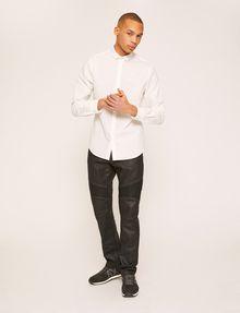 ARMANI EXCHANGE REGULAR-FIT POLO COLLAR CHAMBRAY SHIRT Long sleeve shirt Man d
