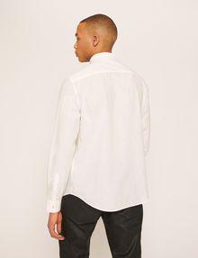 ARMANI EXCHANGE REGULAR-FIT POLO COLLAR CHAMBRAY SHIRT Long sleeve shirt Man e