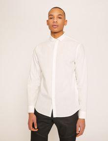 ARMANI EXCHANGE REGULAR-FIT POLO COLLAR CHAMBRAY SHIRT Long sleeve shirt Man f