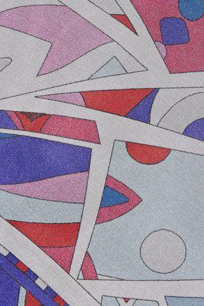 EMILIO PUCCI Printed silk-chiffon scarf