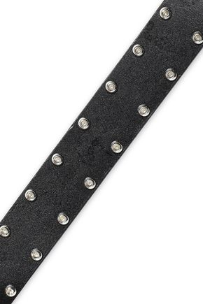 IRO Studded leather belt