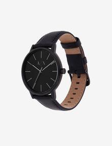 ARMANI EXCHANGE Uhr mit glattem Lederband Uhr Herren r