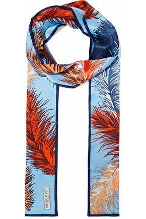 EMILIO PUCCI Printed silk-satin scarf