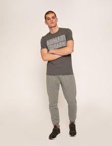 ARMANI EXCHANGE SLIM-FIT MESH PRINT CREW Logo T-shirt Man d