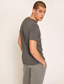 ARMANI EXCHANGE SLIM-FIT MESH PRINT CREW Logo T-shirt Man e