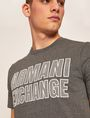 ARMANI EXCHANGE SLIM-FIT MESH PRINT CREW Logo T-shirt [*** pickupInStoreShippingNotGuaranteed_info ***] b