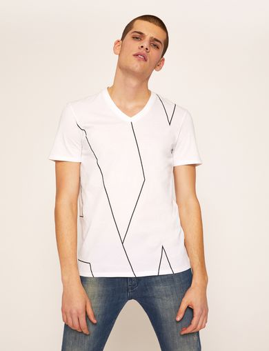 ARMANI EXCHANGE Non-logo Tee Man F