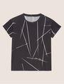 ARMANI EXCHANGE LINEAR STREAK LOGO CREW Graphic T-shirt [*** pickupInStoreShipping_info ***] r
