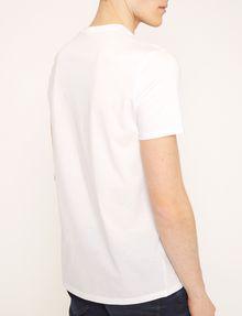 ARMANI EXCHANGE SLIM-FIT REVERSED LOGO CREW Logo T-shirt Man e