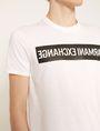 ARMANI EXCHANGE SLIM-FIT REVERSED LOGO CREW Logo T-shirt Man b