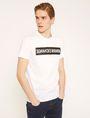 ARMANI EXCHANGE SLIM-FIT REVERSED LOGO CREW Logo T-shirt Man f